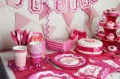 8 Happy Birthday Becher Perfectly Pink
