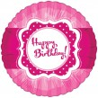Folien Ballon Perfectly Pink Happy Birthday