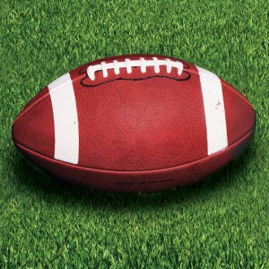 16 kleine Servietten Football Superbowl Sideline Strategy