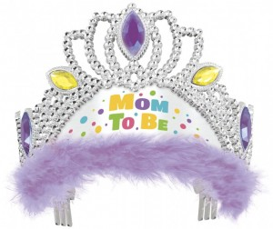 Baby Shower Tiara Mom to Be