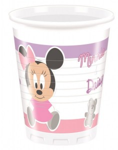 8 Becher Baby Minnie und Friends