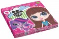20 Servietten Littlest Pet Shop