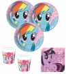 8 Becher My little Rainbow Pony