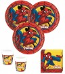 36 Teile Spider-Man Ultimate Power Party Deko Set für 8 Kinder