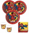 52 Teile Spider-Man Ultimate Power Party Deko Set für 16 Kinder