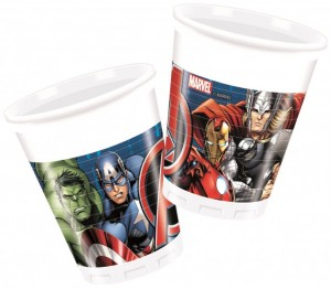 8 Becher Avengers Assemble Power