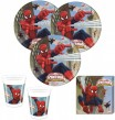 71 Teile Spiderman Web Warriors Deko Set 16 Personen