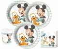 52 Teile Disney Baby Micky and Friends Party Deko Set 16 Personen