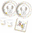 36 Teile Disney Babyshower Party Deko Set 8 Personen