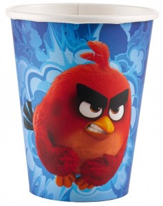 8 Becher Angry Birds Movie