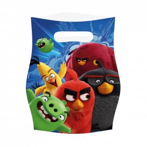 8 Party Tüten Angry Birds Movie