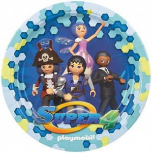 8 Teller Playmobil Super 4