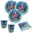 8 Becher Playmobil Super 4