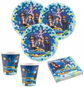 36 Teile Playmobil Super 4 Party Deko Set 8 Kinder