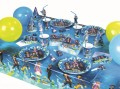 8 Trinkhalme Playmobil Super 4