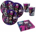 52 Teile Monster High Party Deko Set