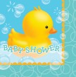 16 Servietten Baby Shower Entchen
