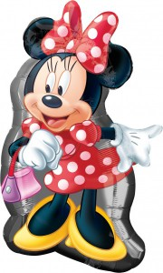 Minnie Maus Supershape Folien Ballon