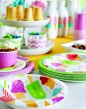 8 Dessert Schalen zur Eis Party