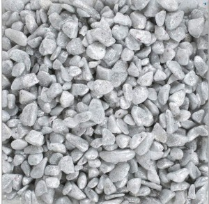 500g Glitter Nuggets silber
