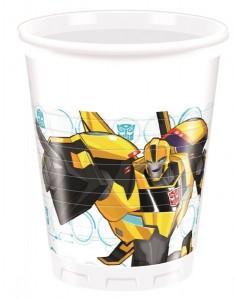 8 Becher Transformers Power Up