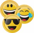 XXL Smiley Emoticons Party Deko Set für 16 Personen