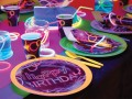 8 Papp Becher Knicklicht Neon Raver Party