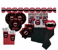 XXL Vampire Party Set für 8 Personen
