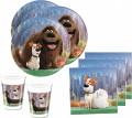 6 Hunde Party Hütchen The secret life of pets