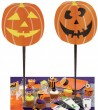 8 Halloween Muffin Picker Kürbis Gesicht