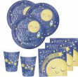48 Teile I love you to the Moon and Back Party Deko Set 16 Personen für die Baby Shower