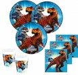 36 Teile Dinosaurier Party Set Jurassic World für 8 Kinder