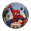 8 kleine Spiderman Web Warriors Papp Teller