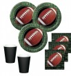 48 Teile Football Superbowl Party Deko Set 16 Personen Touchdown