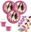 36 Teile Disney's Soy Luna Party Set für 8 Kinder