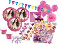 XXL 76 Teile Disney's Soy Luna Party Set für 6-8 Kinder