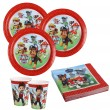52 Teile Paw Patrol Party Deko Set 16 Kinder