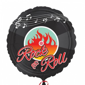 Folienballon 50er Jahre Rock'n Roll Motto Party