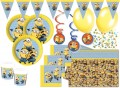 55 Teile Minions Party Deko Set für 8 Kinder