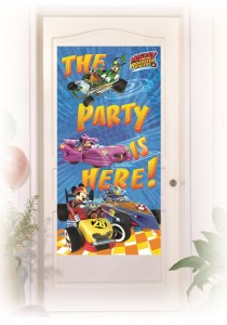 Türposter Micky Maus Roadster Racers