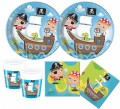 36 Teile Piraten Kinder Party Deko Set 8 Kinder